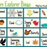 Nature Explorer Bingo