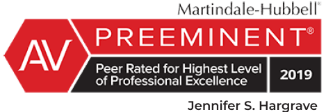 Award Badge - AV Preeminent 2019